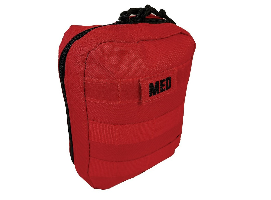 Elite 1st Aid Tactical Trauma Kit #1 - RED image 0