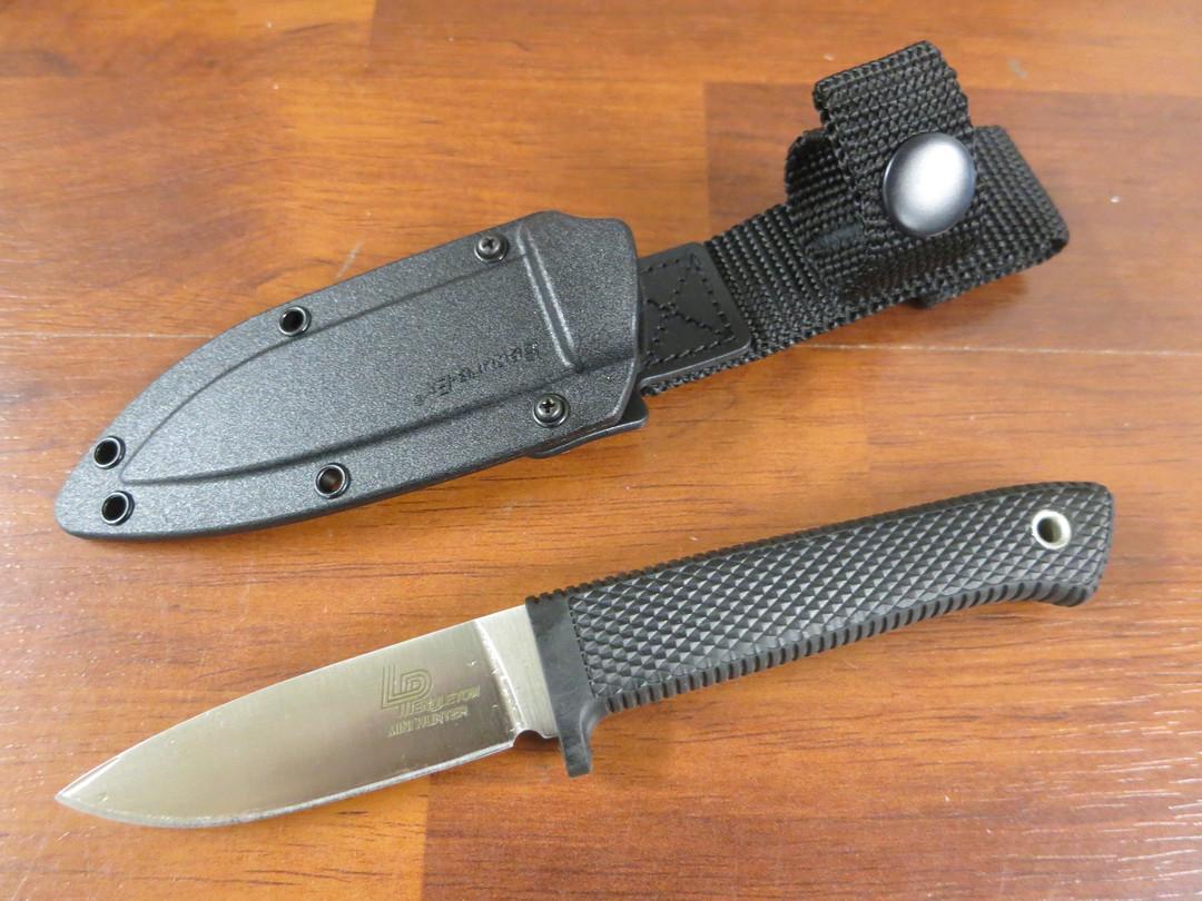 "Cold Steel Pendleton Mini Hunter 3"" AUS-10A Blade, Kray-Ex Handle, Secure-Ex Sheath image 0"