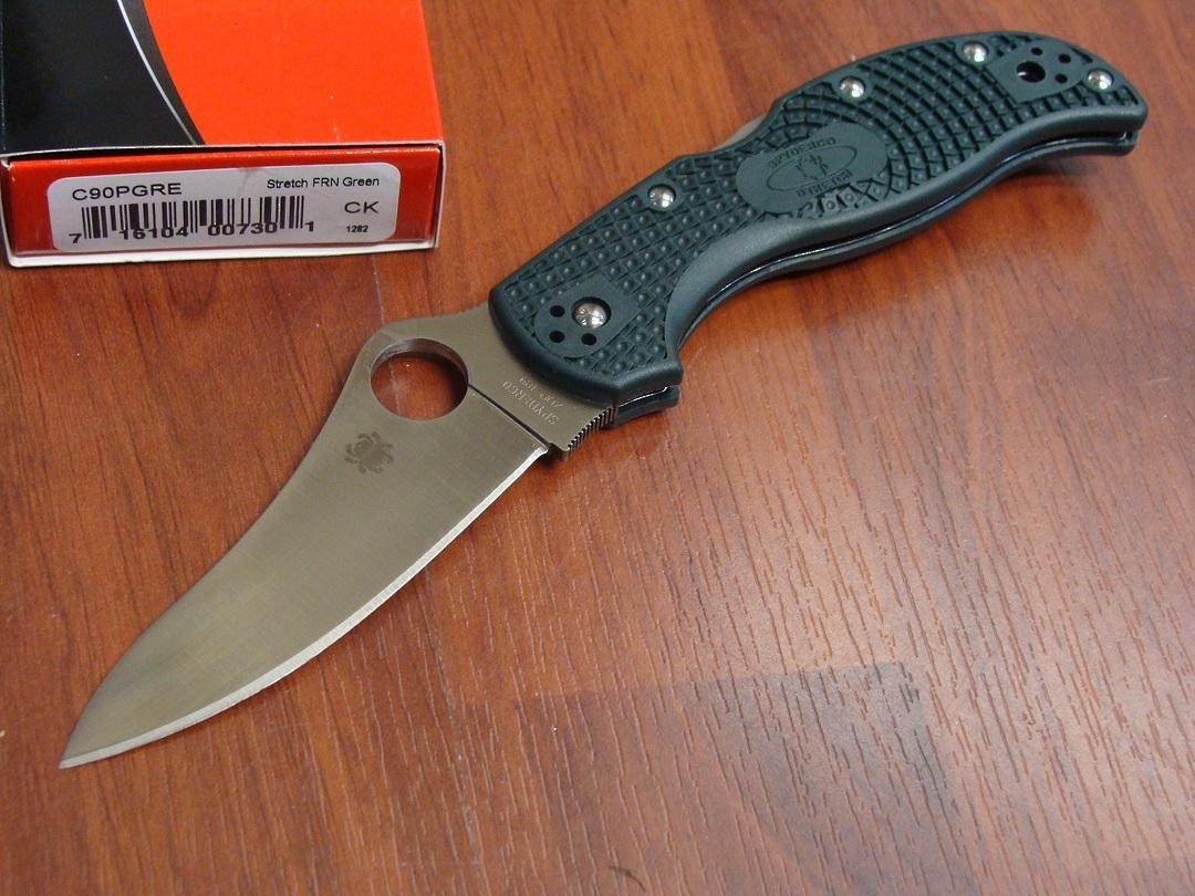 Spyderco Stretch ZDP-189 Folding Knife image 0