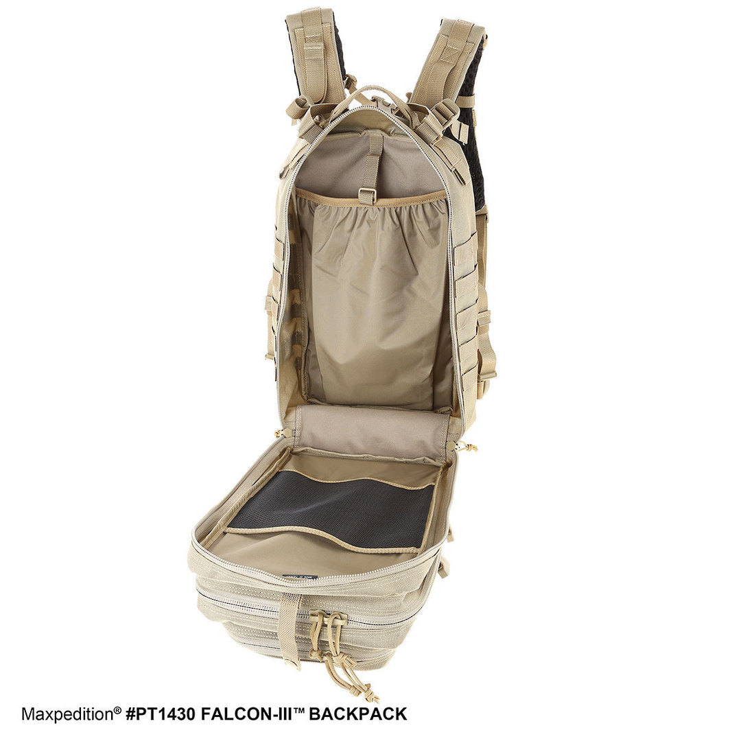 Maxpedition Falcon III Backpack - Black image 8