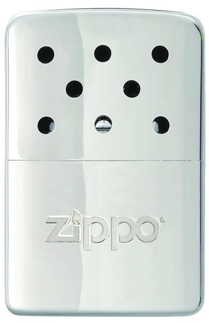 2 x ZIPPO 6-Hour High Polish Chrome Refillable Hand Warmer image 1