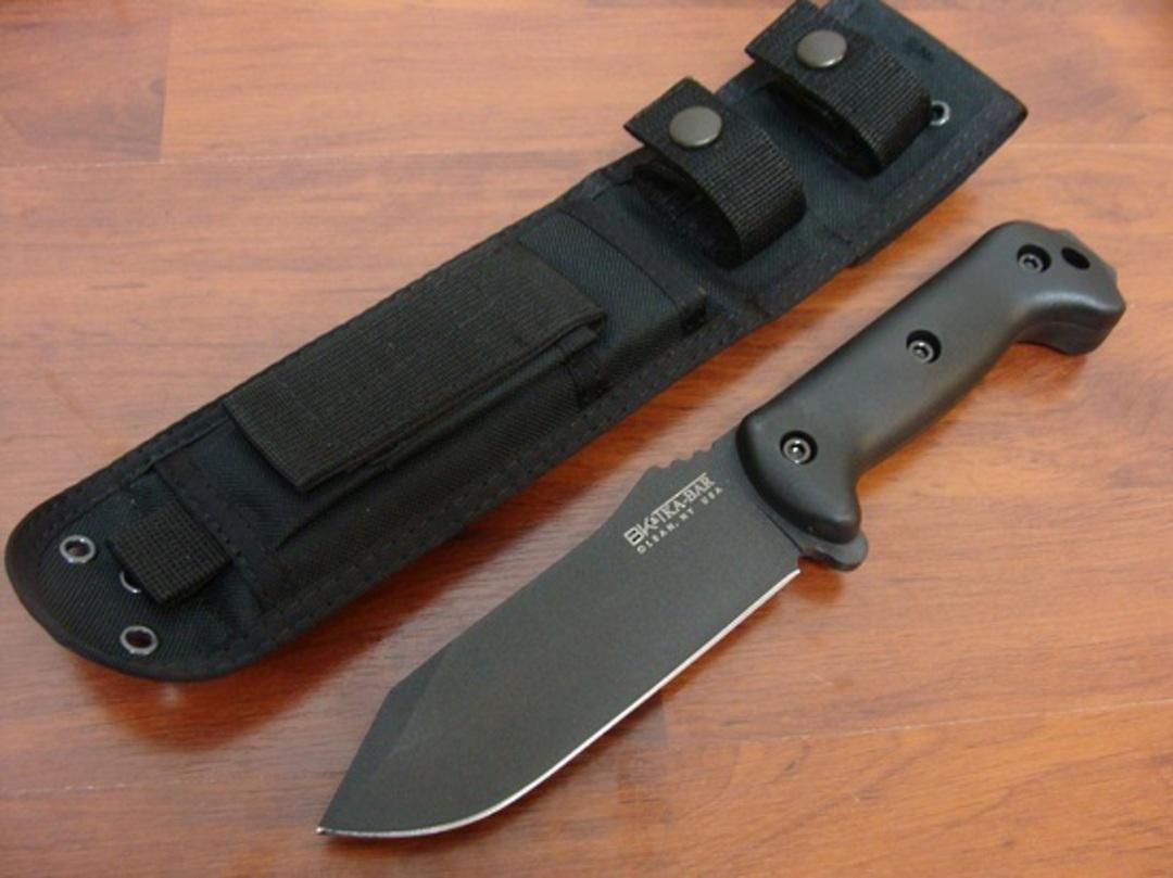 Ka-Bar Becker BK10 Crewman Fixed Blade Knife image 0