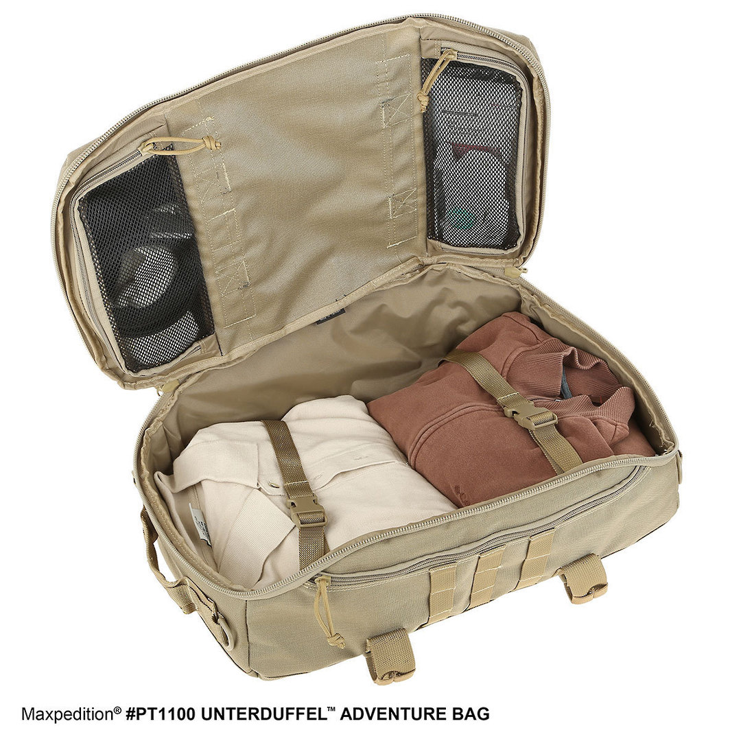 Maxpedition Unterduffel Adventure Bag - Khaki image 8