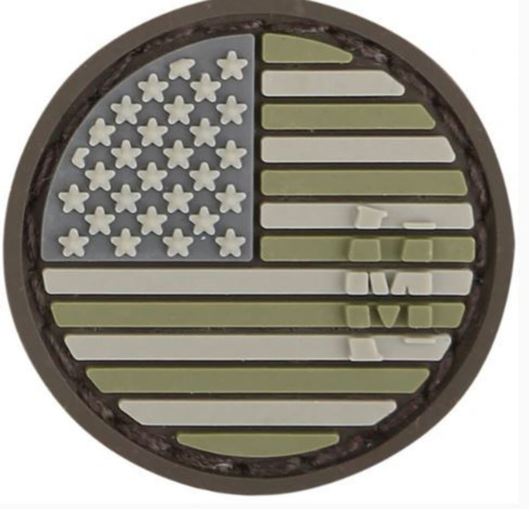 MAXPEDITION USA SHIELD MICRO MORALE PATCH image 0