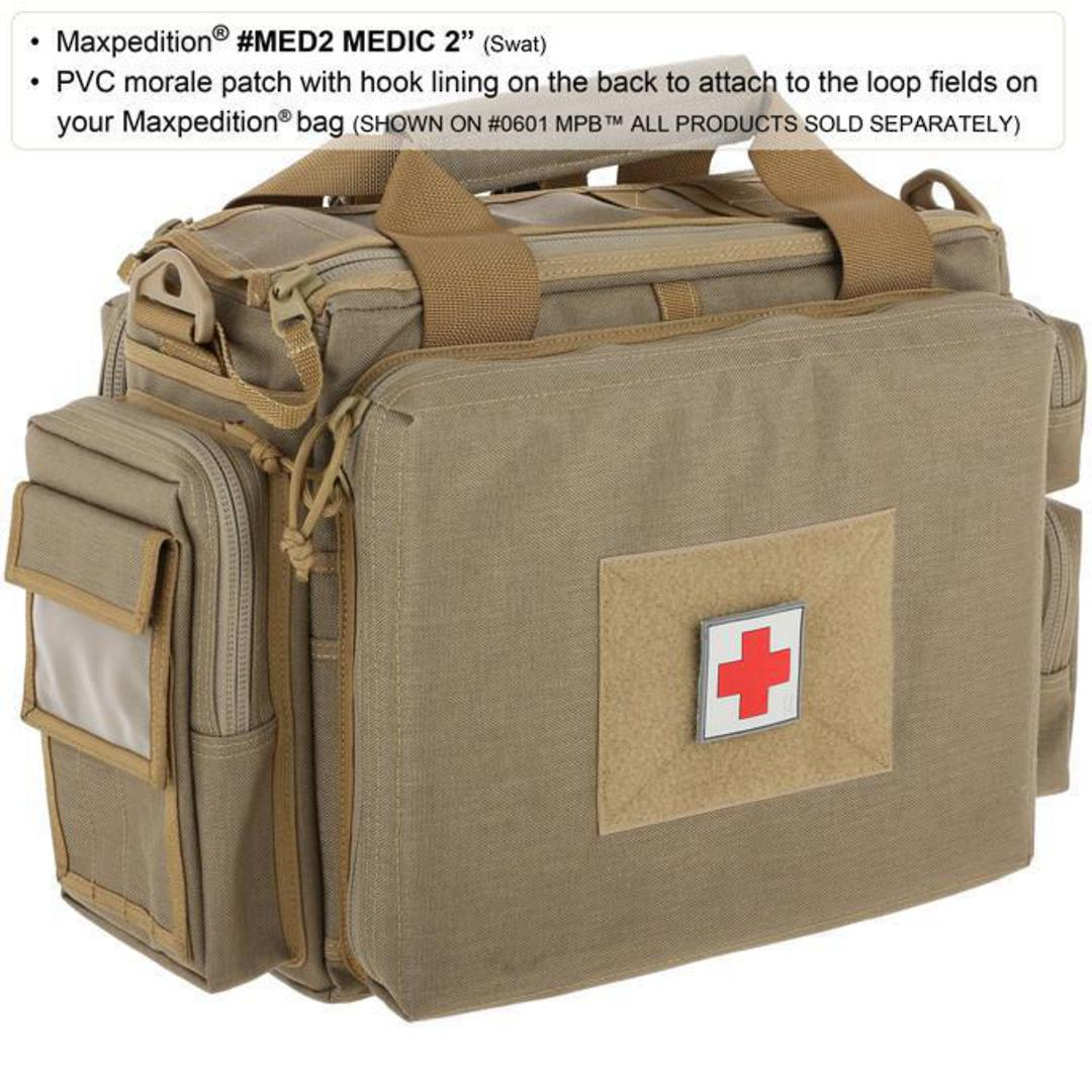 MAXPEDITION MEDIC PATCH SWAT LARGE image 1
