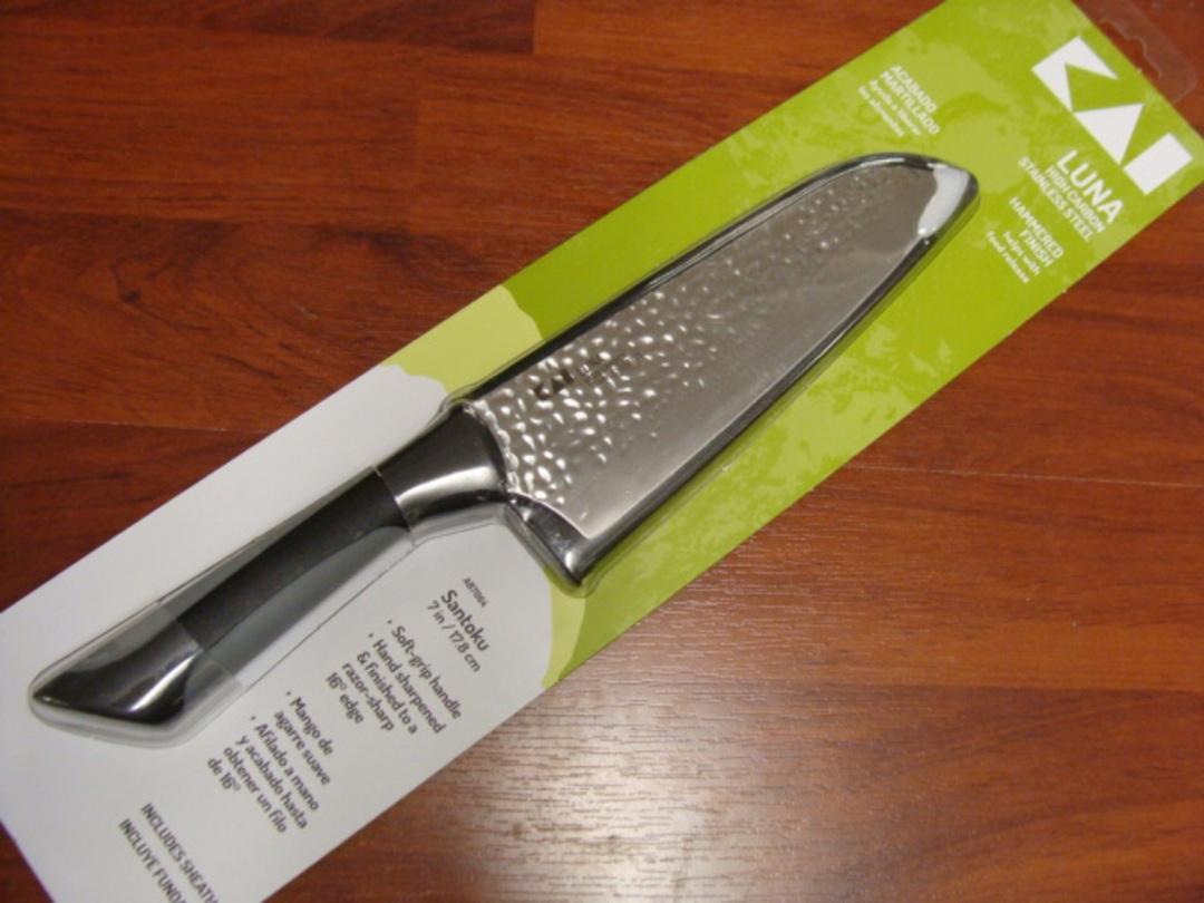 "Kershaw Luna Santoku 7"" Knife image 0"