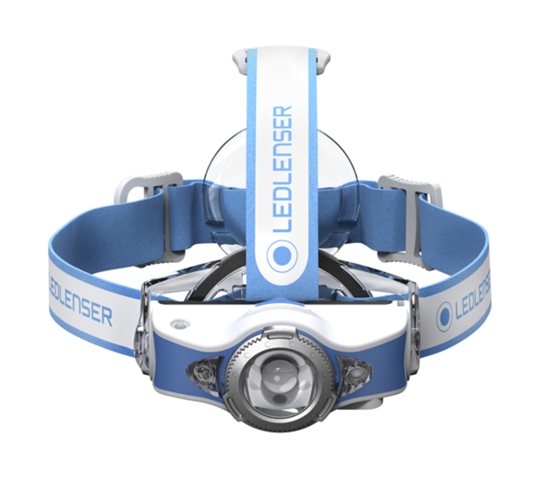 Led Lenser Rechargeable MH11 Headlamp 1000 lumens - Blue image 0