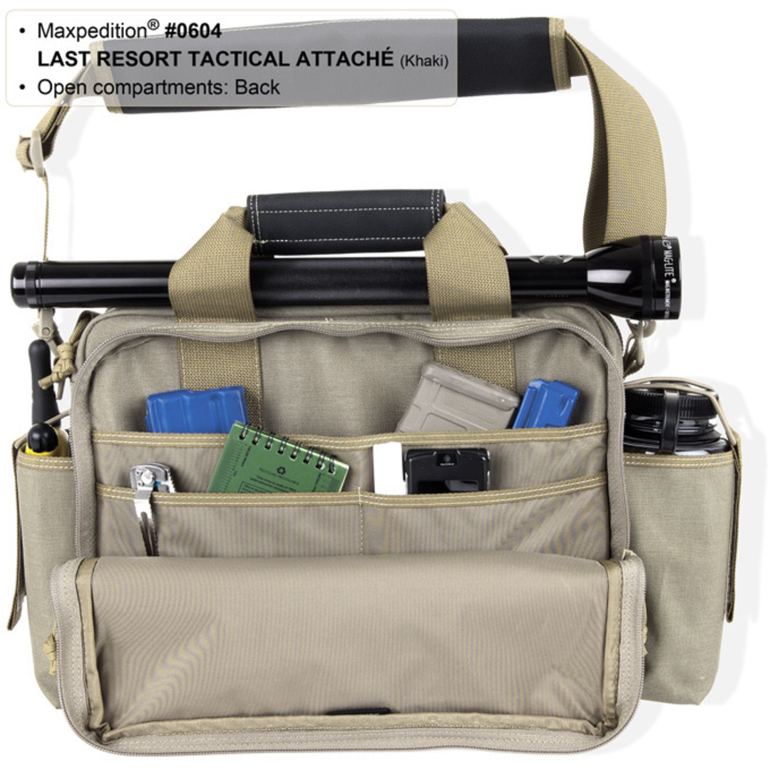 Maxpedition Last Resort Tactical Attache (Small) - Green image 6