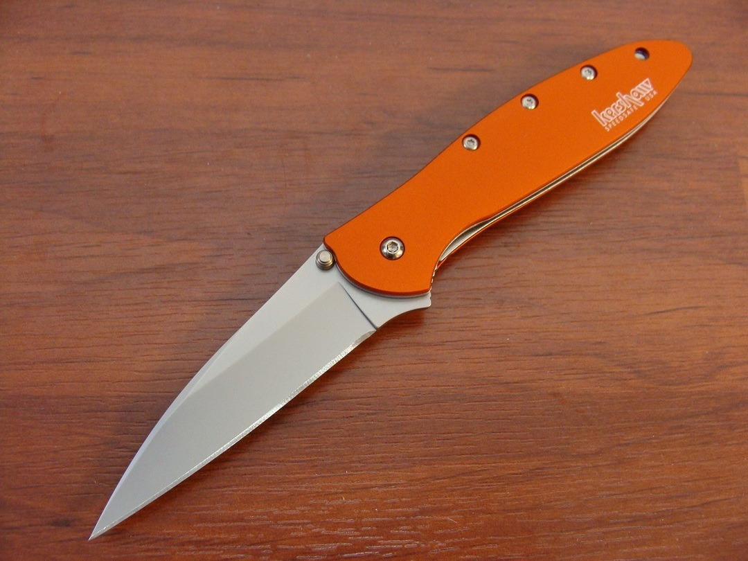 Kershaw Leek A/O Folding Knife - Orange image 0