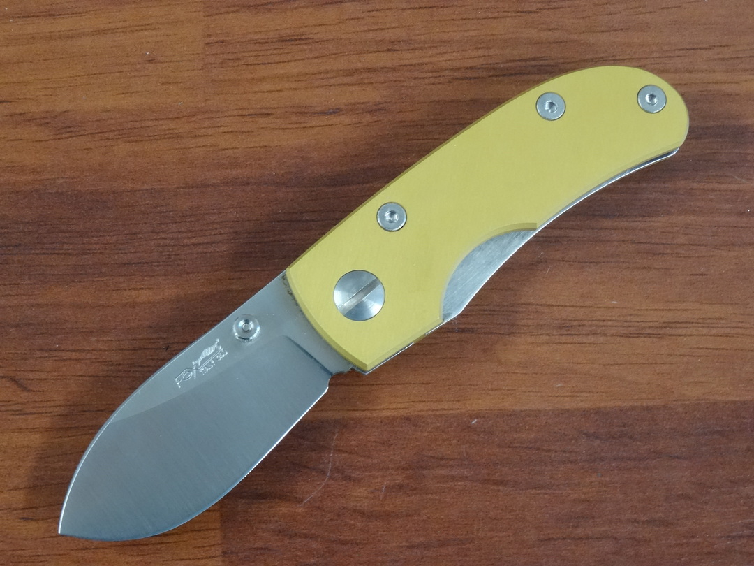 Fox Knives New Generation Floder Drop point Gold 496OG image 0