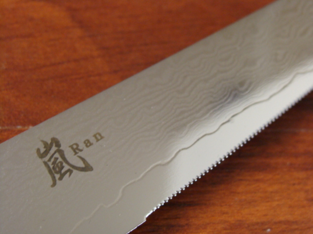 RAN Japanese DAMASCUS STEAK KNIFE 113mm image 2