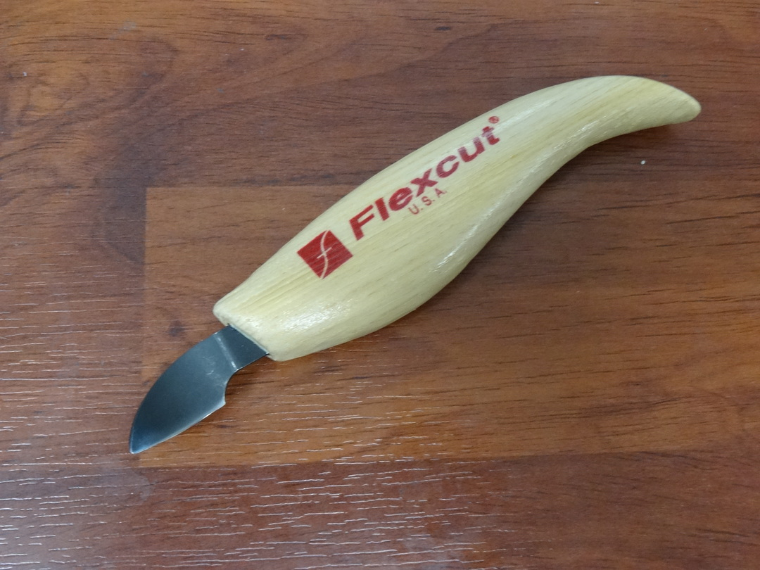 Flexcut Right-Handed Hook Knife - KN26 image 0