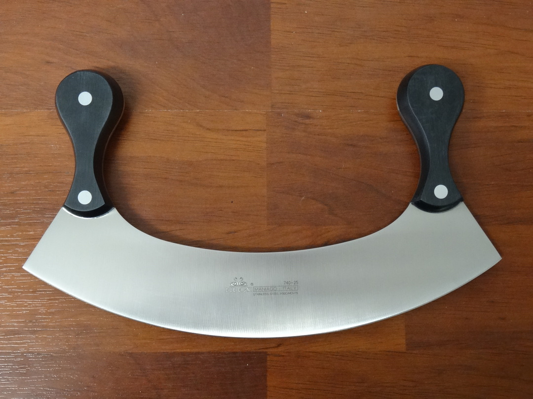 "Due Cigni  ""CLASSICA"" Mincing Knife 25cm image 0"