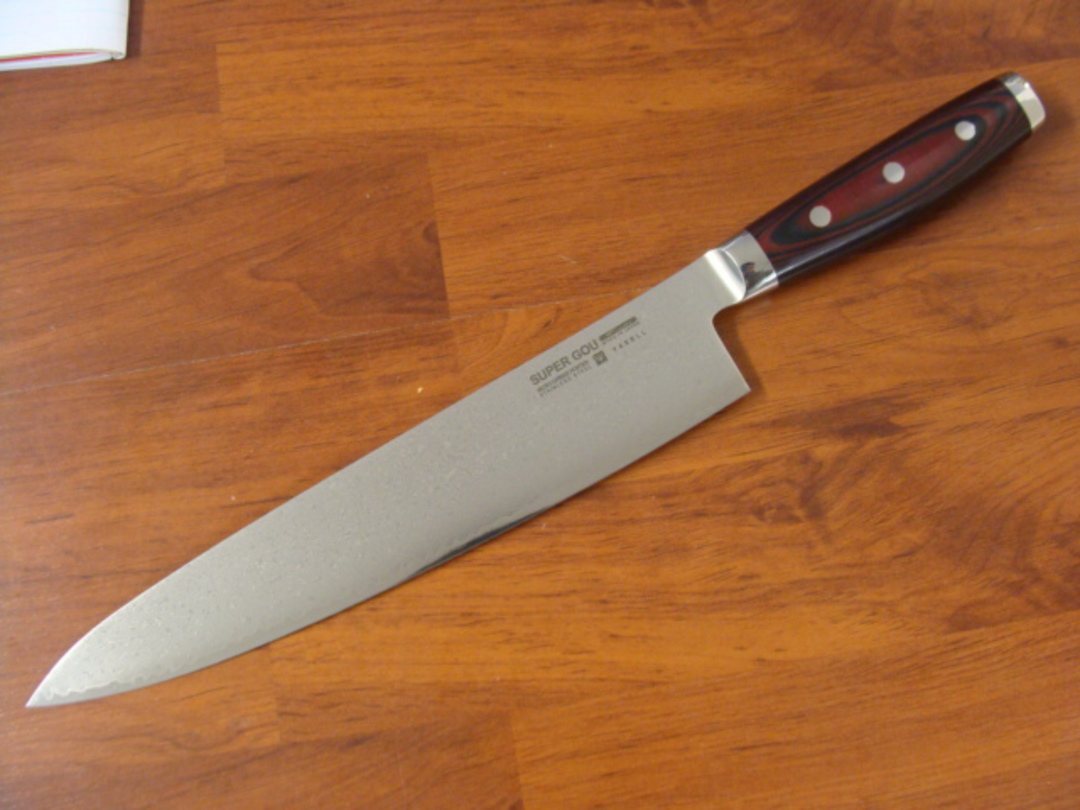 Super GOU Japanese Damascus  Chef's Knife 255mm image 0