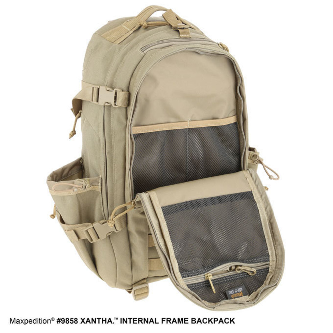 Maxpedition XANTHA INTERNAL FRAME BACKPACK (Large) - Khaki image 7