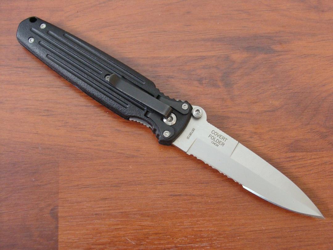 Gerber Applegate Combat Serrated Folding Knife 154CM image 2