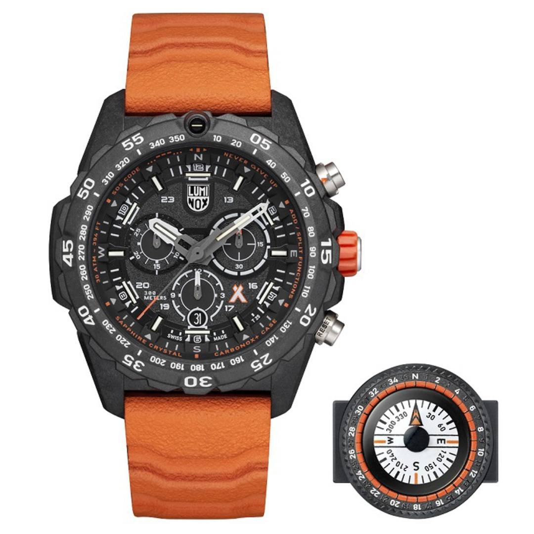 Luminox Chronograph Bear Grylls Surviva Watch Orange - 3749 image 4
