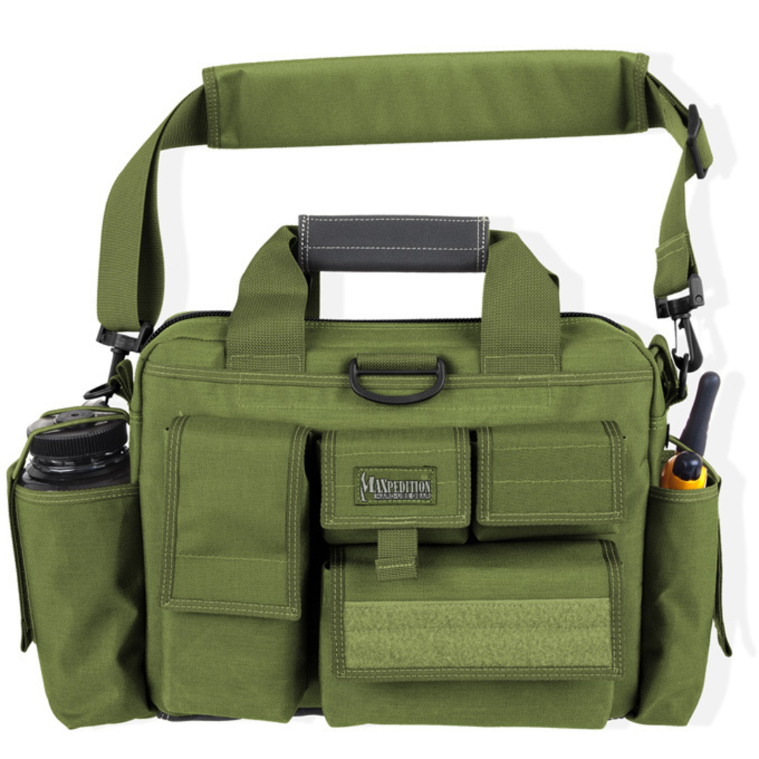 Maxpedition Last Resort Tactical Attache (Small) - Green image 0