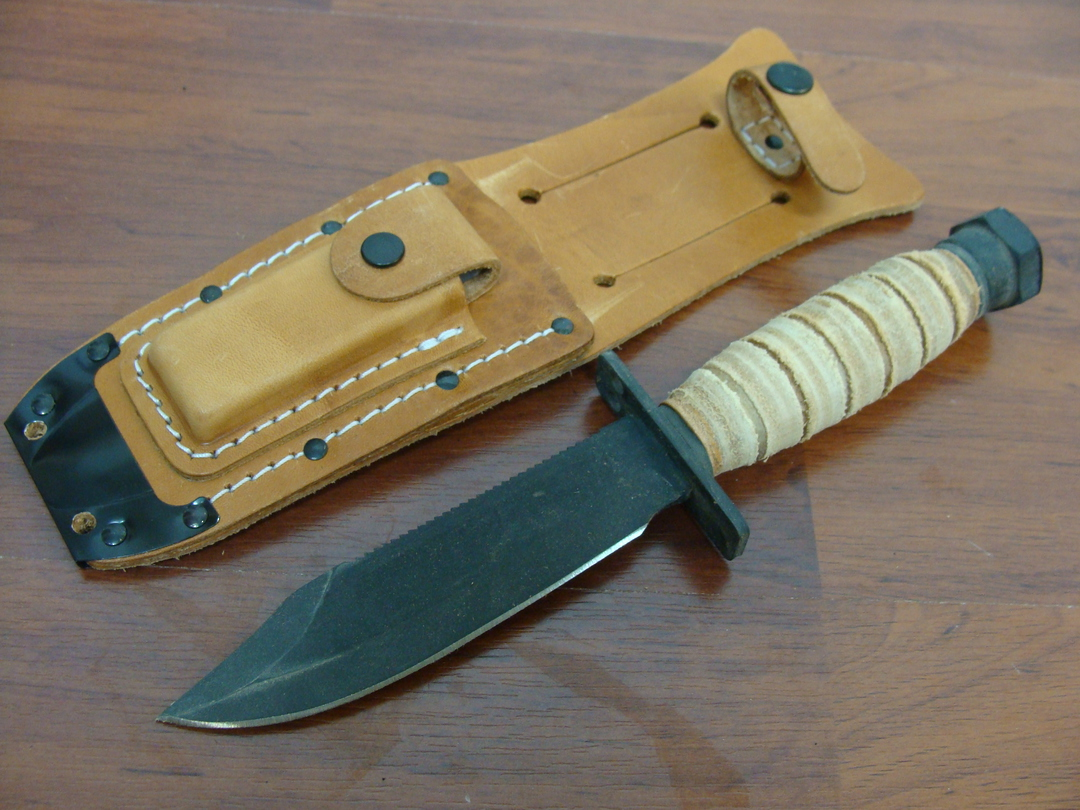 Ontario 499 Force Survival Knife w/Sheath image 1