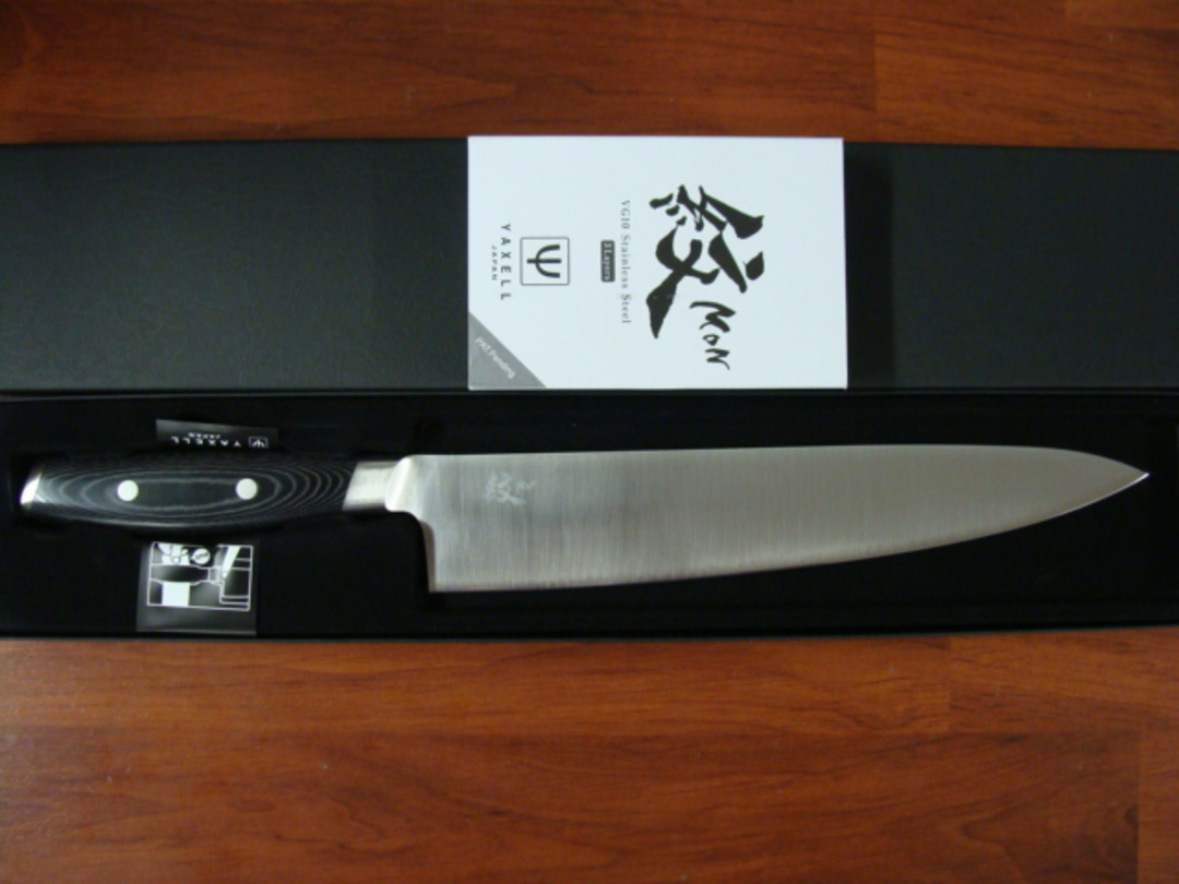 Mon Japanese Damascus VG-10 Chef's Knife 255mm - 3 Layers image 2