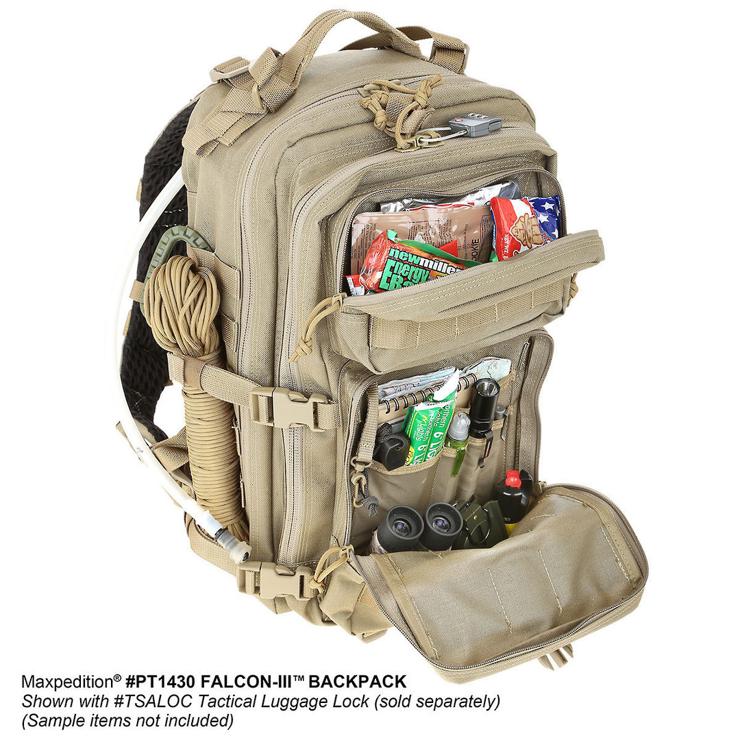 Maxpedition Falcon III Backpack - Black image 19