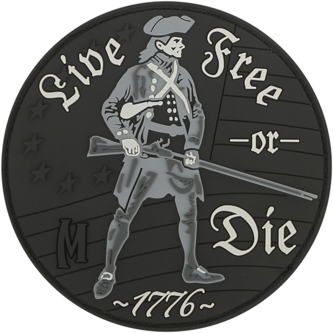 MAXPEDITION LIVE FREE OR DIE PATCH ARID image 0