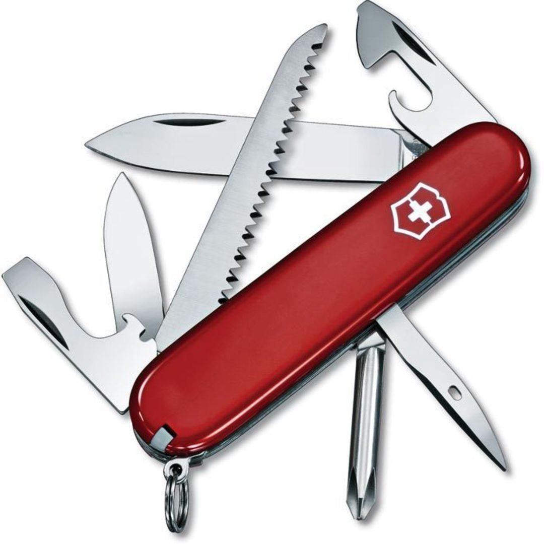 VICTORINOX HIKER SWISS ARMY KNIFE image 0