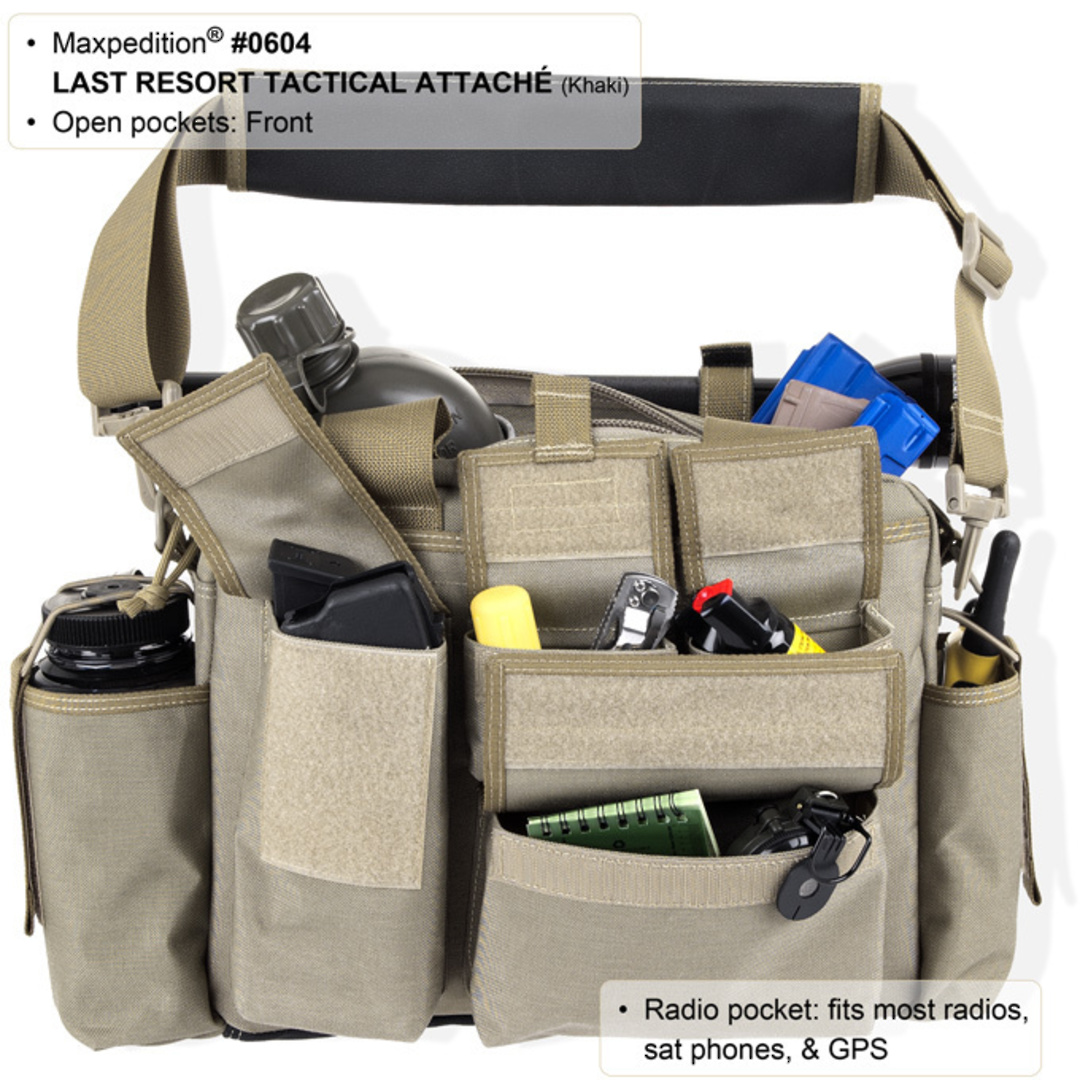 Maxpedition Last Resort Tactical Attache (Small) - Green image 5