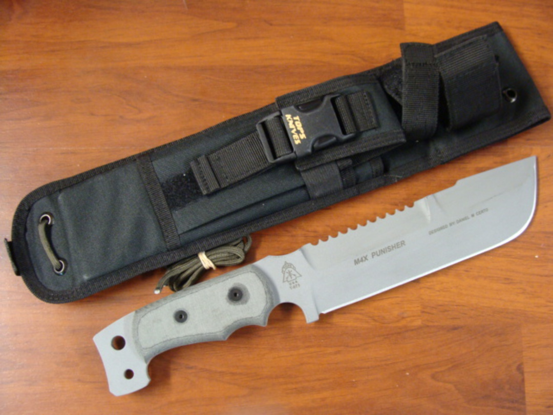 TOPS M4X Punisher Combination Knife M4X-01 image 0