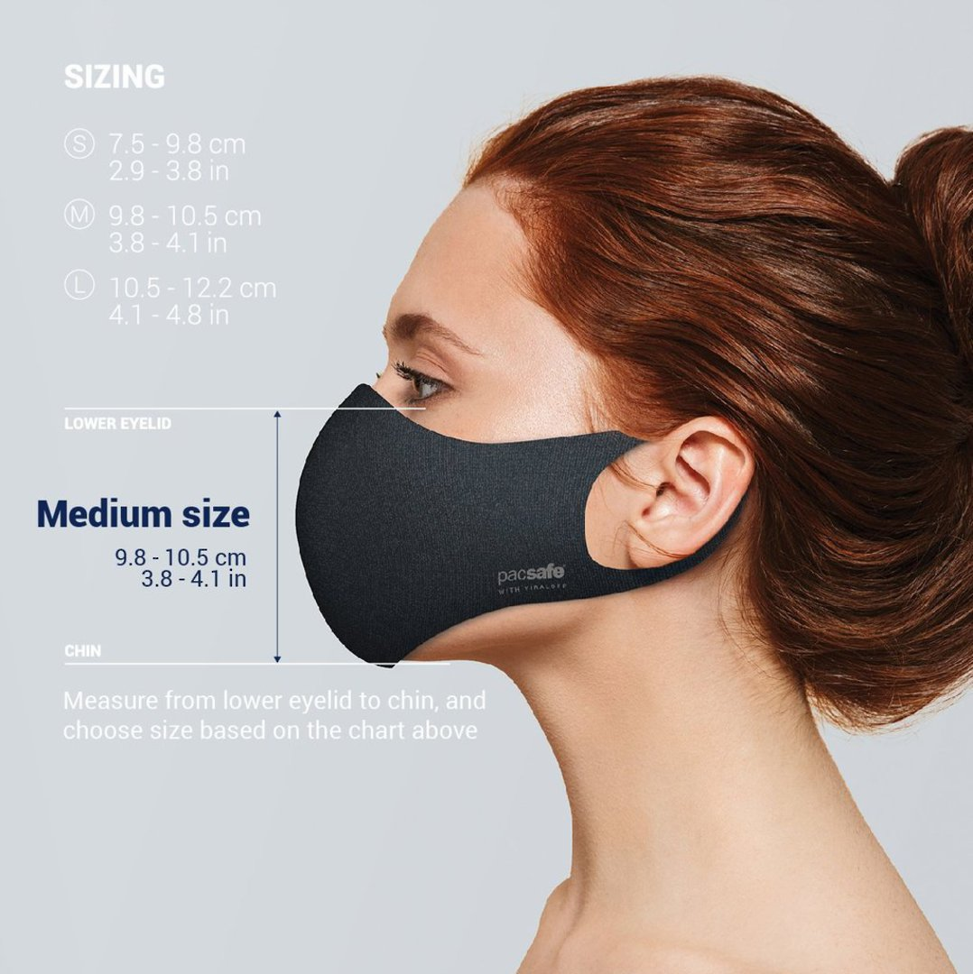 Protective & Reusable Face Mask (NON-MEDICAL) - M image 0