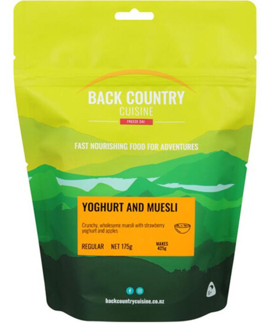 Back Country Cuisine Yoghurt and Muesli REGULAR image 0