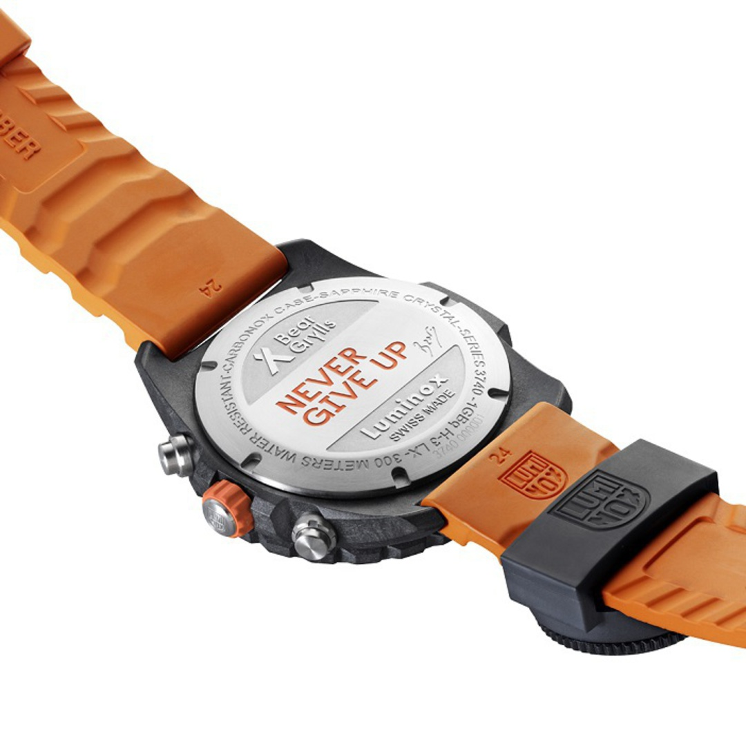 Luminox Chronograph Bear Grylls Surviva Watch Orange - 3749 image 3