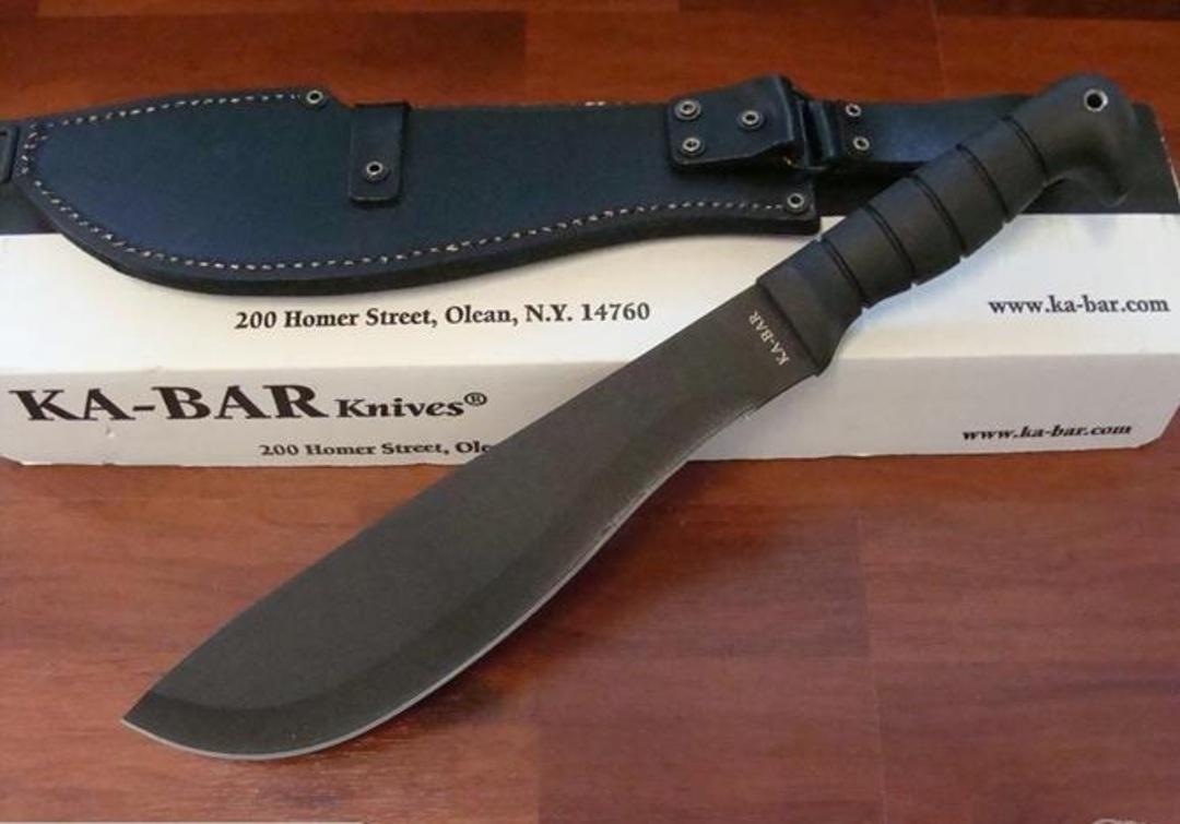 Ka-bar Cutlass Machete & Condura Sheath - 1248 image 0