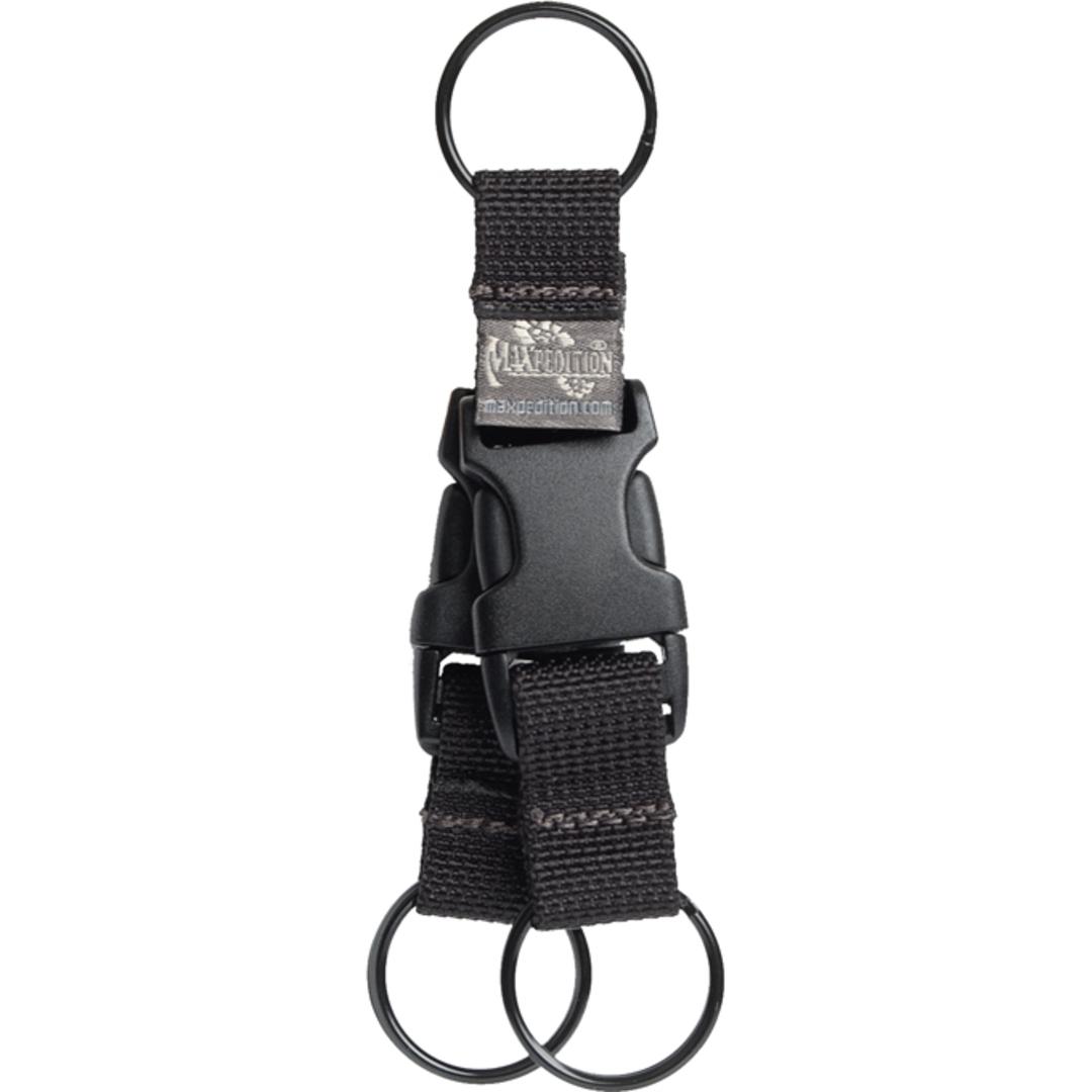 Maxpedition TRITIUM™ KEY RING - Black image 0