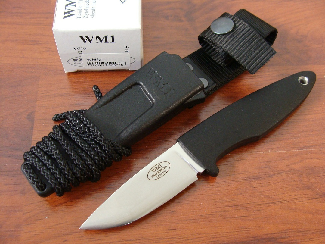 Fallkniven WM1 Sporting Knife- Zytel sheath image 0
