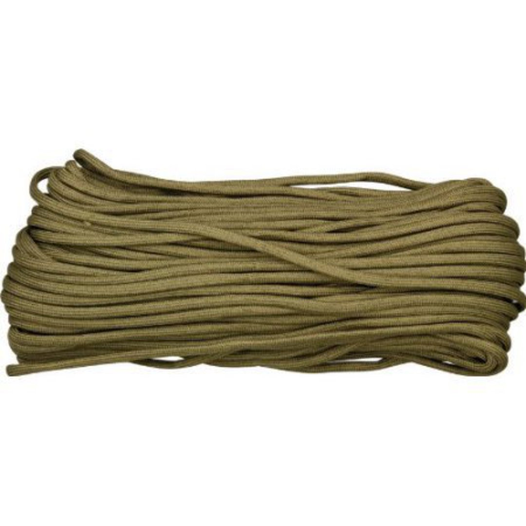 100ft 550 Parachute Cord/Paracord - Coyote Brow image 0