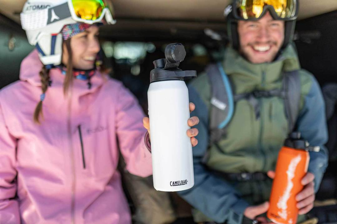 CAMELBAK CHUTE MAG VACUUM INSULATED STAINLESS 32 OZ/ 1L - Black image 1