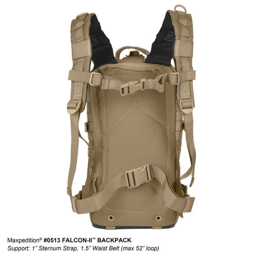 Maxpedition Falcon II Hydration Backpack ~ Black image 3