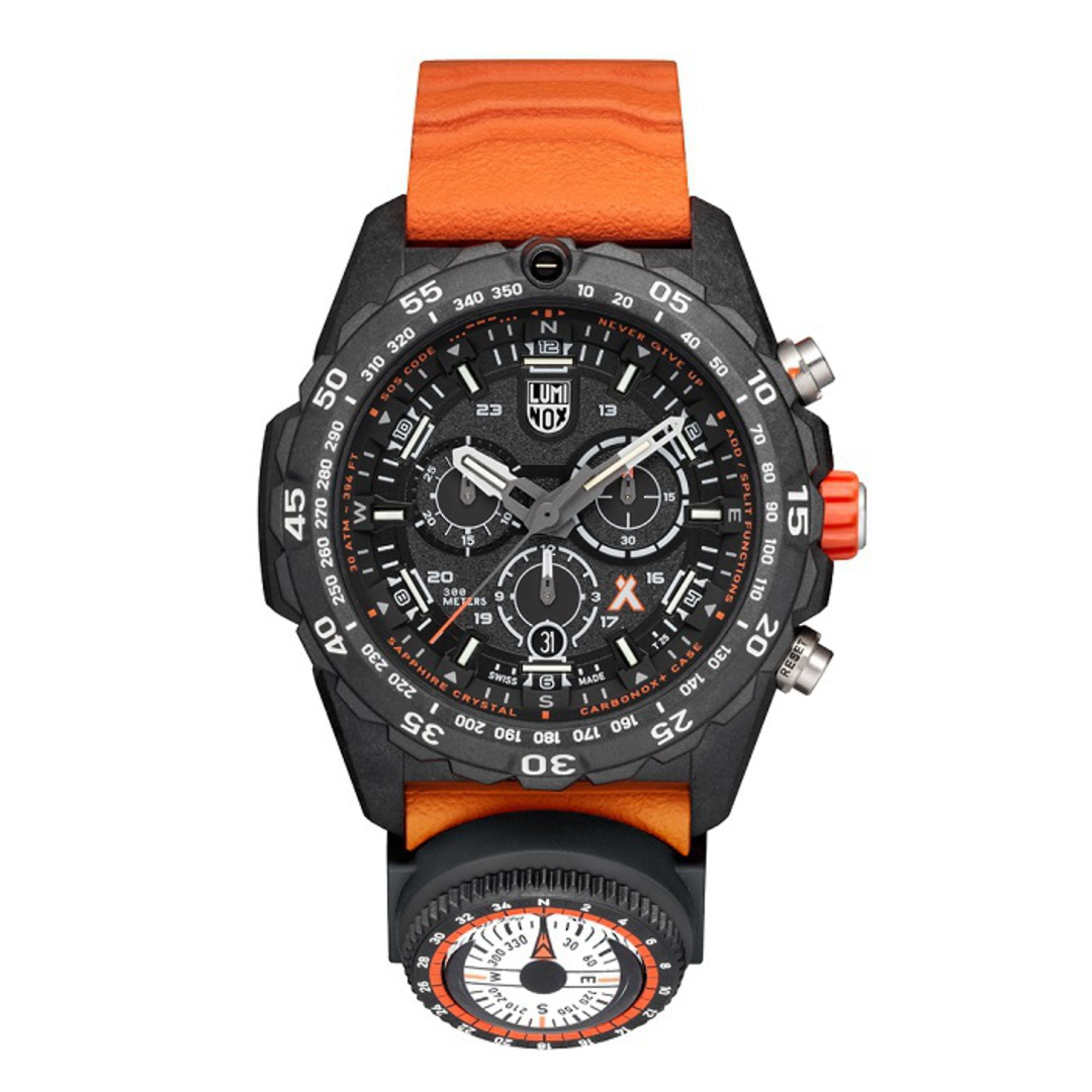 Luminox Chronograph Bear Grylls Surviva Watch Orange - 3749 image 0