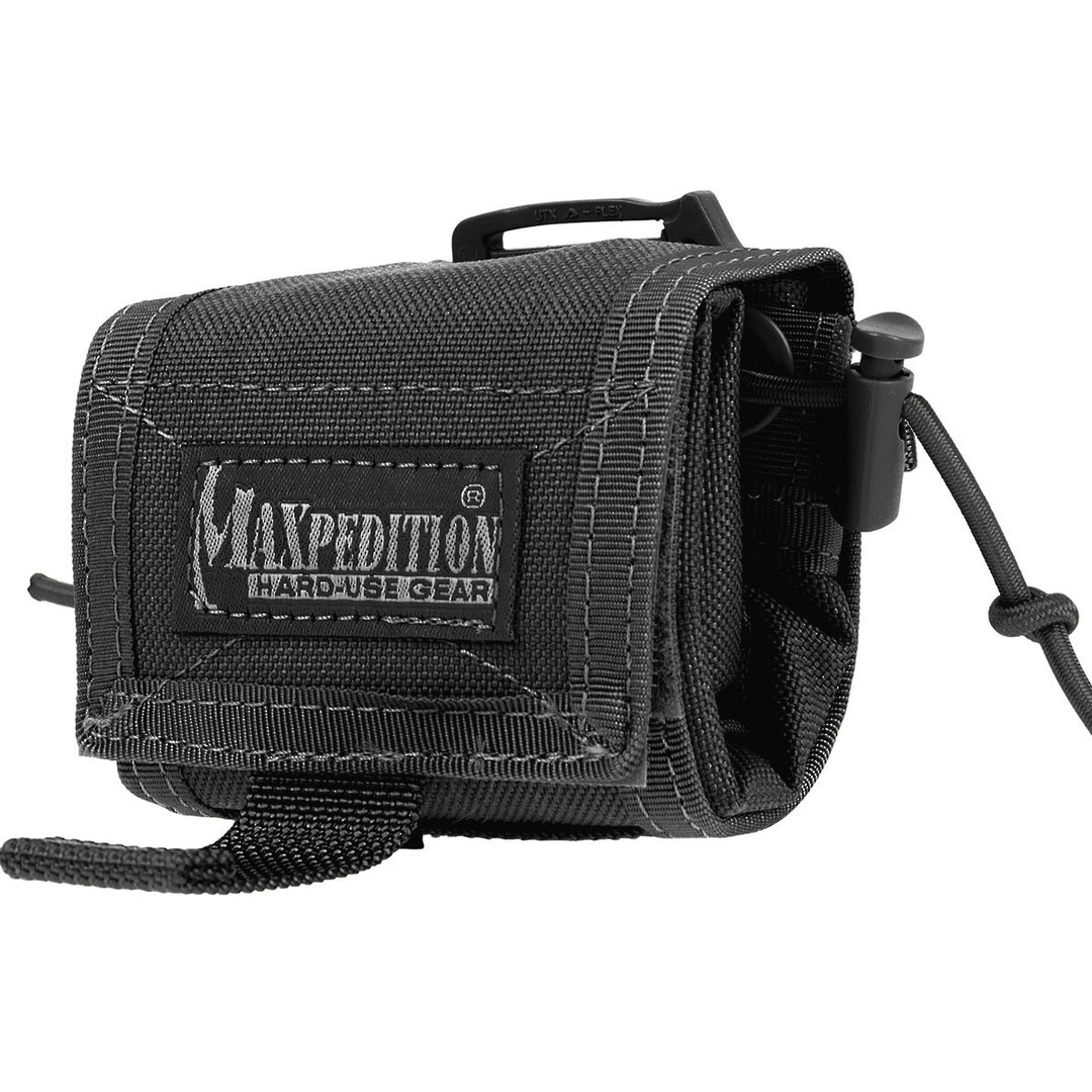 Maxpedition Rollypoly® MM Folding Dump Pouch - Black image 0