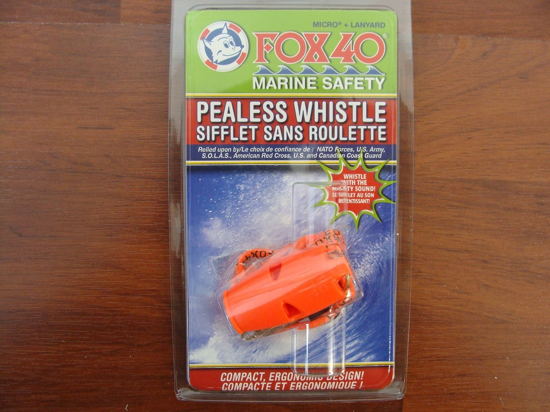 Fox 40 Micro Pealess Safety Whistle image 0