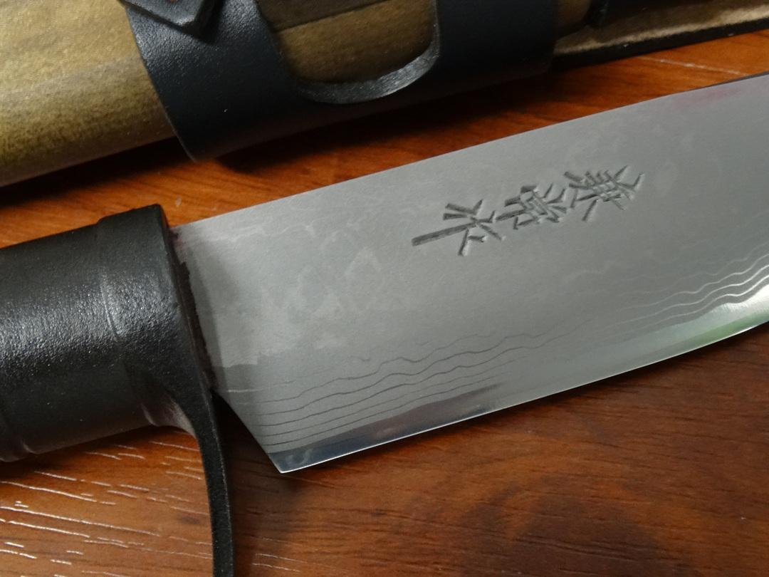 Kanetsune KB414 Sazanam  Japanese Damascus Knife image 1