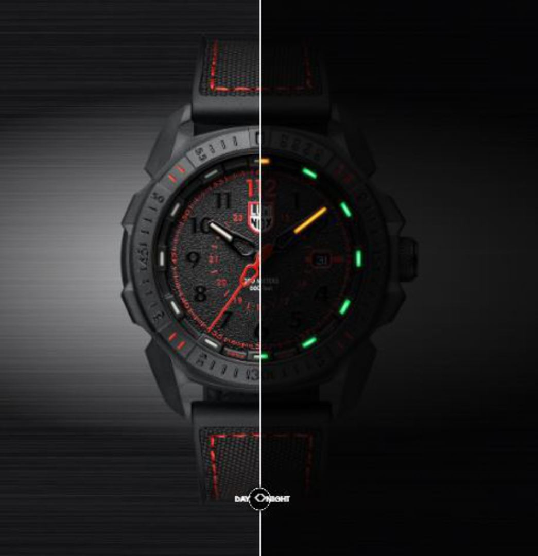 Luminox ICE-SAR ARTIC 1000 Series Black/Red Watch - 1002 image 1