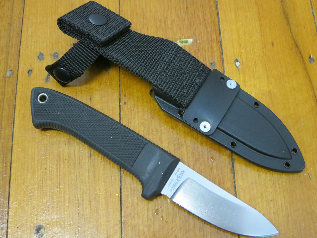 Cold Steel Pendleton Hunter Fixed AUS10 Blade, Kray-Ex Handles image 1