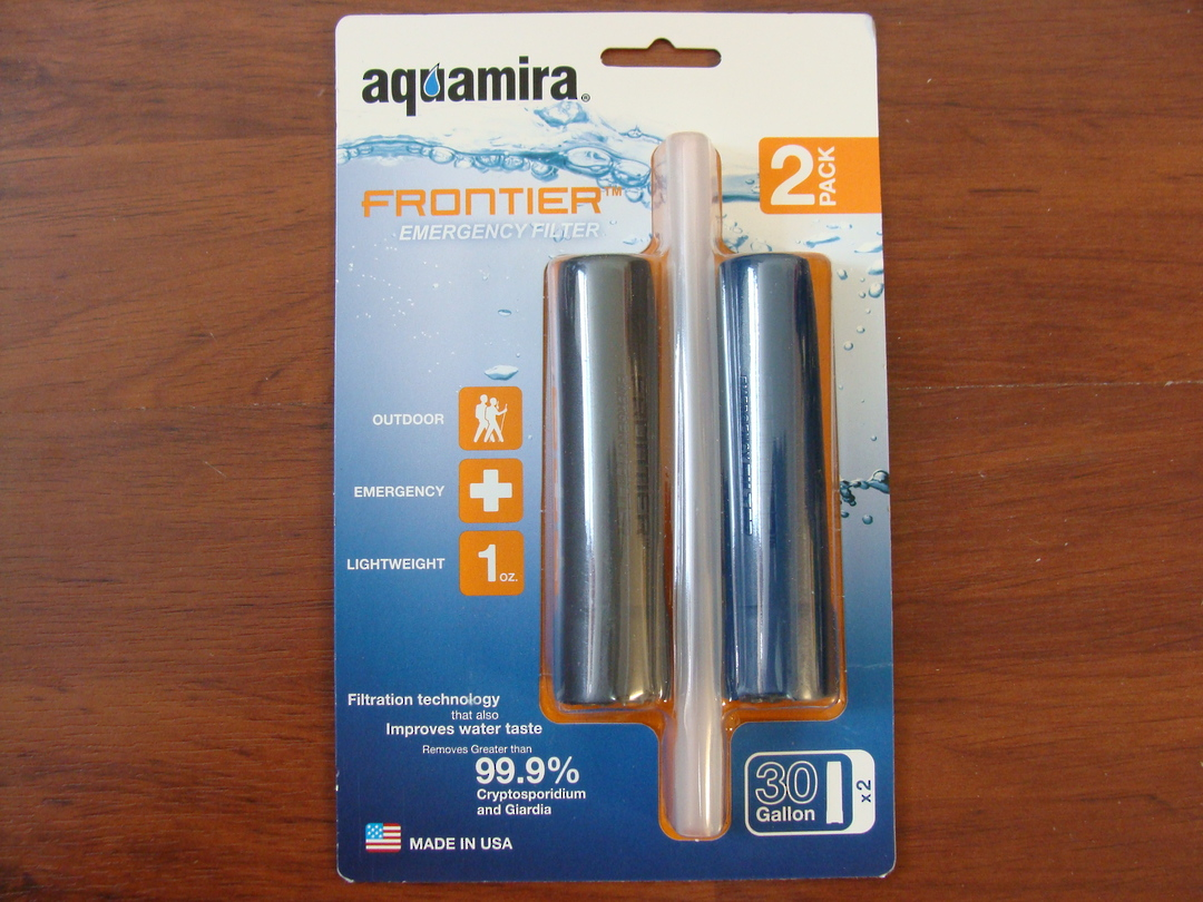 Aquamira Frontier Emergency Filter Two Pack image 0