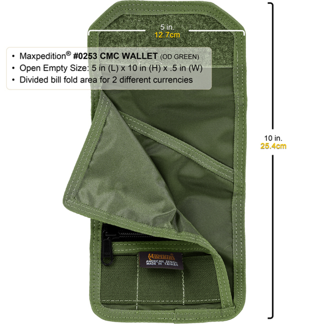Maxpedition CMC Wallet - Khaki image 3