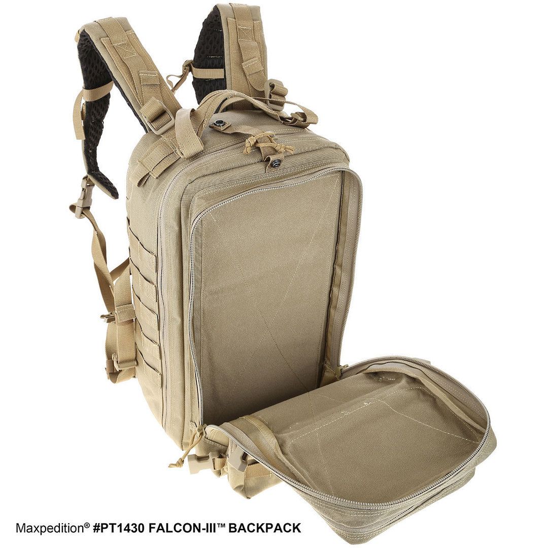 Maxpedition Falcon III Backpack - Black image 7