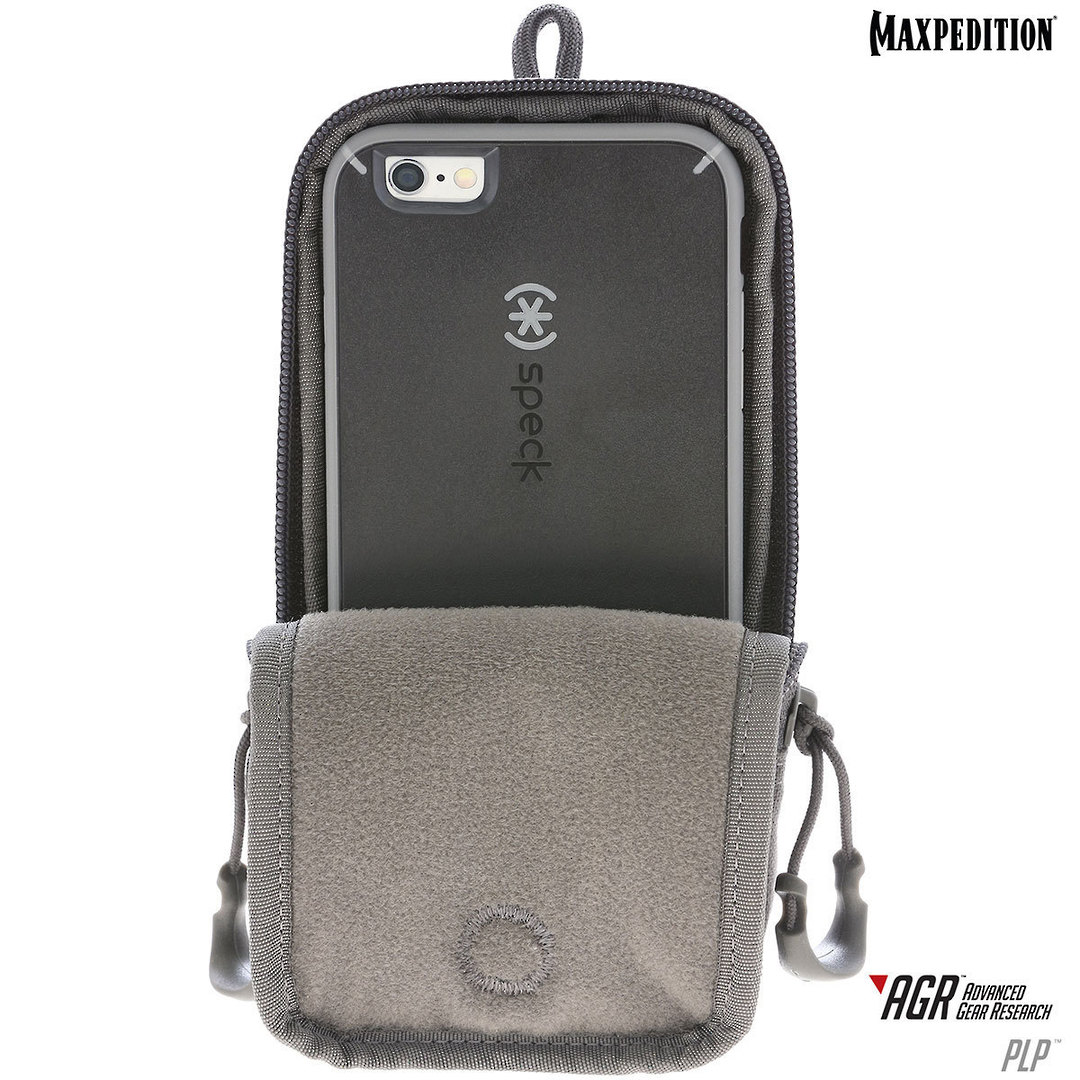 Maxpedition PLP iPhone 6 Plus, iPhone 7 or 8 Plus Pouch, Black image 6