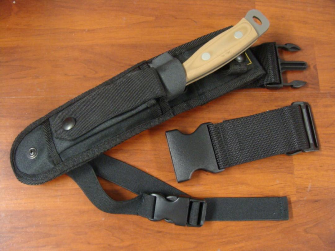 Knives of Alaska Extreme Defense Survival D2 G-10 Knife w/ Nylon Sheath - 843FG image 2