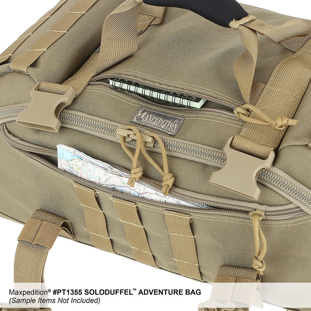 Maxpedition Soloduffe™ Adventure Bag - Khaki PT1355K image 11